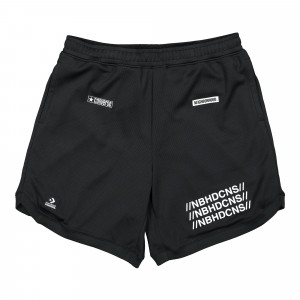 Neighborhood x Converse Mesh Short ( 10018150-A01 / Black )