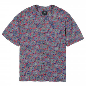 Stussy Floral Print Shirt ( 1110109 / 0601 / Red )