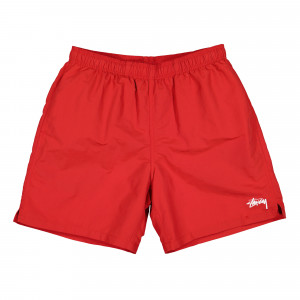 Stussy Stock Water Short ( 113120 / 0601 / Red )
