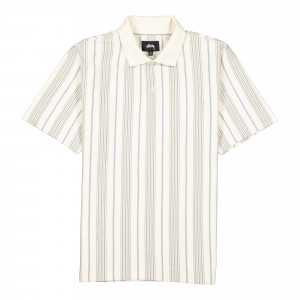 Stussy Revival Stripe Polo ( 1140220 / 1002 / Natural )