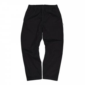 Stussy Brushed Beach Pant ( 116423 / 0001 / Black )