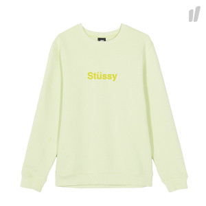 Stussy Weld Applique Crew ( 118305 / 0453 / Pale Green )