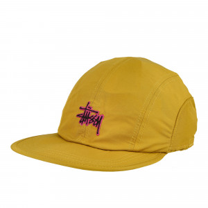 Stussy Basic Stock Bungee Camp Cap ( 132970 / 0203 / Mustard )