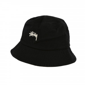 Stussy Stock Bucket Hat ( 132996 / 0001 / Black )