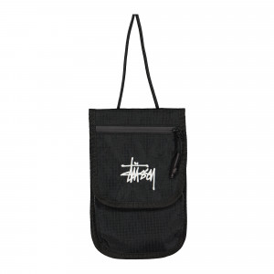 Stussy Travel Pouch ( 134233 / 0001 / Black )