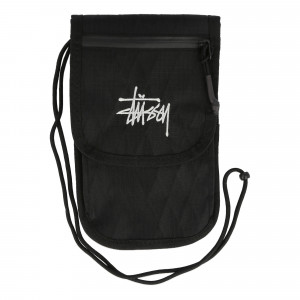 Stussy Travel Pouch ( 134240 / 0001 / Black )