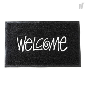 Stussy PVC Welcome Mat ( 138493 / 0001 / Black )