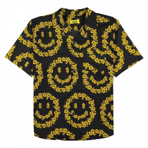 Chinatown Market Smiley Floral Shirt ( 1690006 / 0001 / Black )