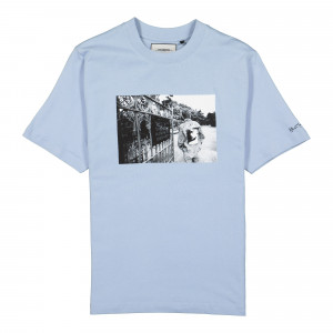 Kevin Cummins x Wasted Paris Life T-Shirt ( 178001 / City Blue )