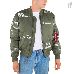 Alpha Industries MA-1 VF Freedom ( 178124 / 01 / Sage Green )