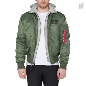 Alpha Industrie MA-1 D-Tec Jacket ( 183110 / 01 / Sage Green )