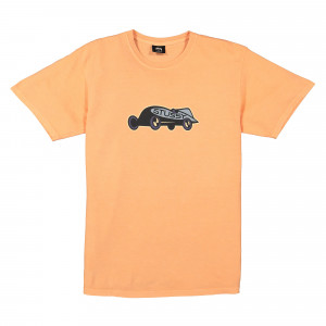 Stussy Race Car Pigment Dyed Tee ( 1904359 / 0607 / Coral )