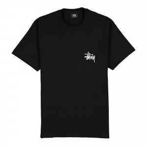 Stussy Peace Pot Tee ( 1904578 / 0001 / Black )