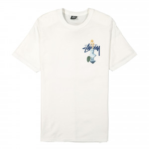 Stussy Psychedelic Tee ( 1904663 / 1201 / White )
