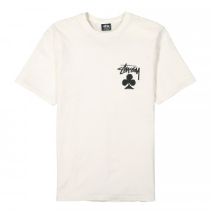 Stussy Club Pigment Dyed Tee ( 1904670 / 1002 / Natural )