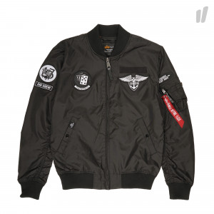 Alpha Industries MA-1 TT Patch SF ( 196102 / 03 / Black )