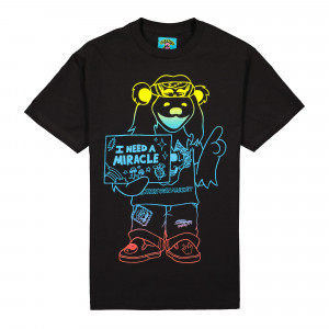 Grateful Dead x Chinatown Market I Need A Miracle Gradient Tee ( 1990394 / 0001 / Black )