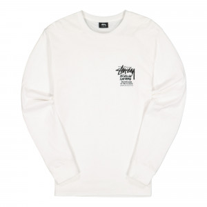 Stussy In The Clouds Longsleeve Tee ( 1994559 / 1201 / White )