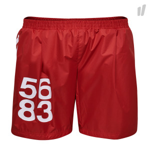 Willy Chavarria x Hummel Shorts ( 203-826-3062 / Red )