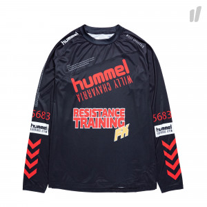 Willy Chavarria x Hummel Karlsen Jersey LS ( 204-010-2001 / Black )