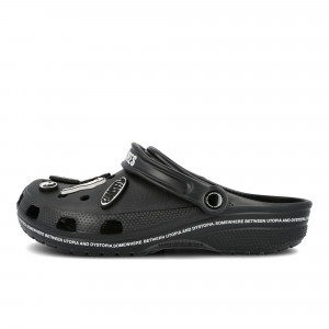 Pleasures x Crocs Utopia ( P19F114028 / Black )