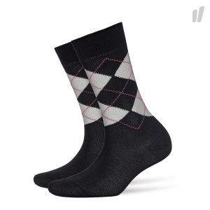 Burlington Wmns Transparent Covent Garden Socks ( 20643-3000 / Black )