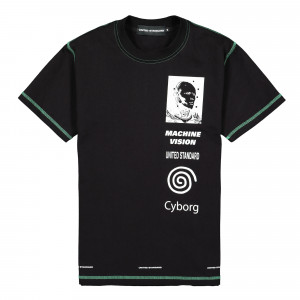 United Standard Cyborg T-Shirt ( 20SUSTS09 / Black )
