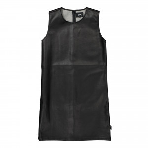 Stussy Wmns PU Shift Dress ( 211184 / 0001 / Black )