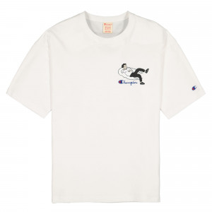 Champion Crewneck T-Shirt ( 214419-WW010 )