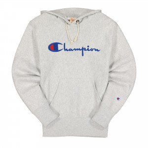 Champion Hooded Sweatshirt ( 215210-EM004 / Grey )