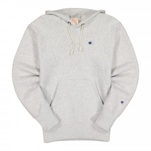 Champion Hooded Sweatshirt ( 215214-EM004 / Grey )
