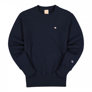 Champion Crewneck Sweatshirt ( 215215-BS501 / Navy )