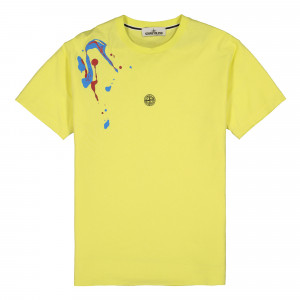 Stone Island T-Shirt ( 2NS81.V0031 / Yellow )