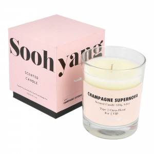 Soohyang Scented Candle 120g ( SSC / Champagne Supernova )