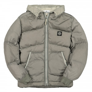 Stone Island Real Down Jacket ( 40532.V0064 / Grey )