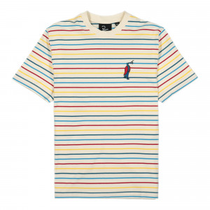 Parra Staring Striped T-Shirt ( 45150 / Multi )