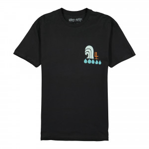 Stussy Waves For Water Andy Davis Drop Tee ( WWADT1701 / 0001 / Black )