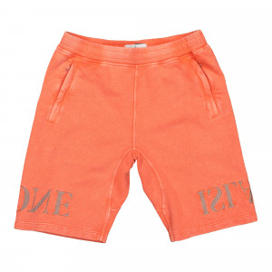 Stone Island Fleece Shorts ( 66354.V0037 / Orange )