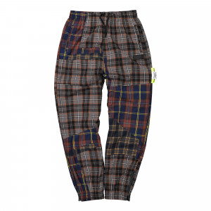 Perks And Mini Over Its Shadow Checked Pants ( 8378-DCHM )