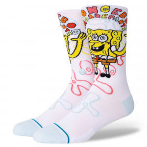 Stance Imagination Bob Socks ( A545A21BOB-WHT )