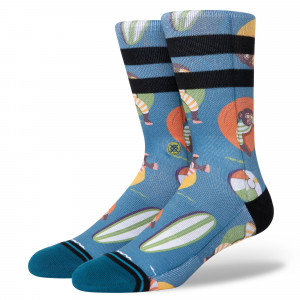 Stance Monkey Chillin Socks ( A558A21MCN-TEA )