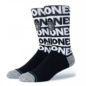 Stance The Ramones Socks ( A558B20THE-BLK )