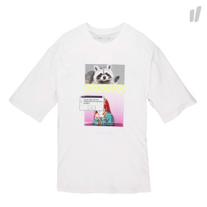 Antimatter Anti Graphic Tee ( I19 / White - Fluorecent Color )