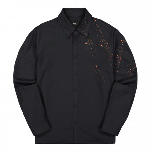 Neige Painter Shirt ( AW1923 / Black )