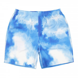 Born X Raised Bleach Out Swim Trunks ( B2021STRK / Blue )