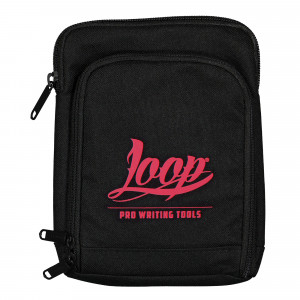 Loop Shoulder Pouch Logo Red