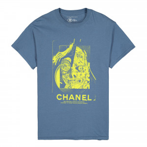 Bow3ry Chanel T-Shirt ( BOW-05 / Denim )
