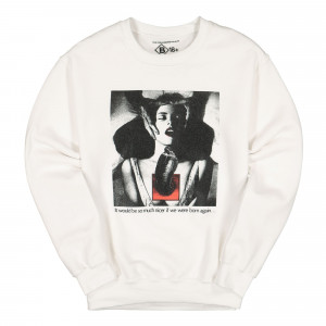 Bow3ry Born Again Vintage Crewneck ( BOW-CN-01 / White )