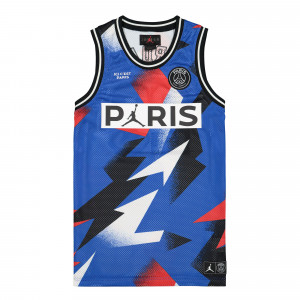 Paris Saint Germain x Air Jordan Mesh Jersey ( BQ8356 480 )