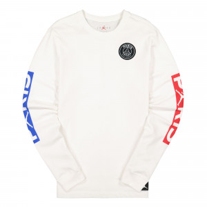 Paris Saint Germain x Air Jordan LS Tee ( BQ8382 101 )